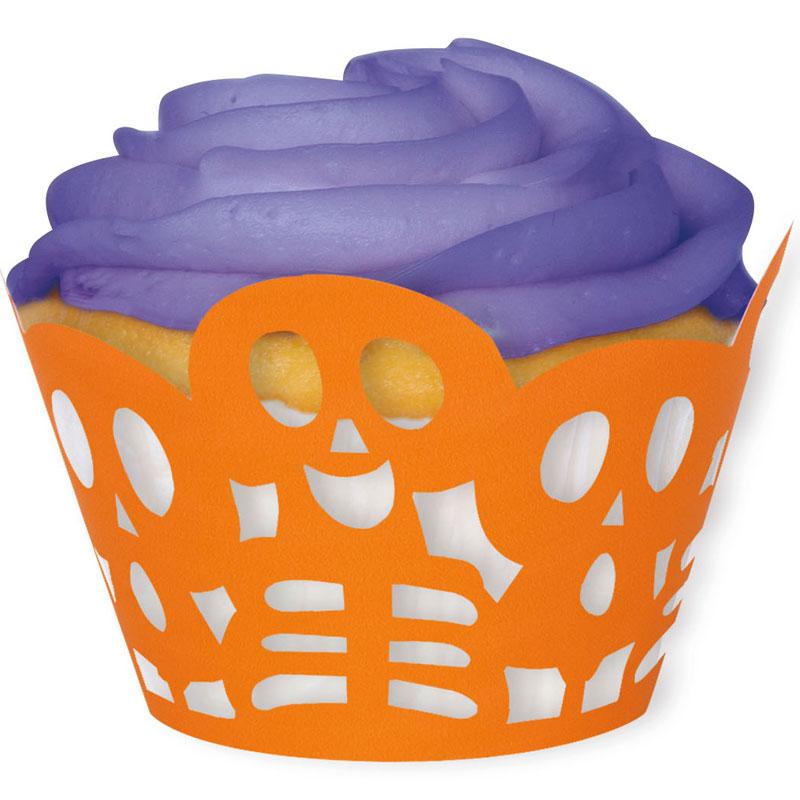 Muffinsformar Halloween Skelett
