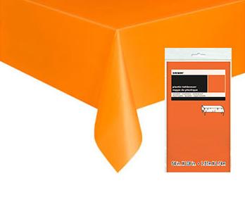 Orange Bordsduk i Plast
