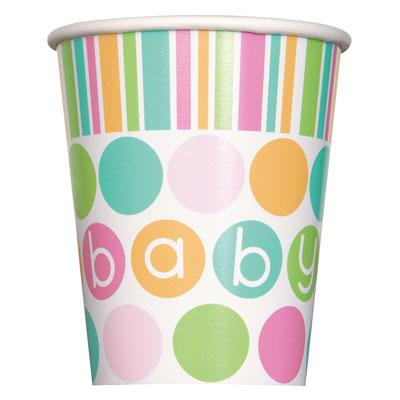 Pastell Baby Shower Muggar