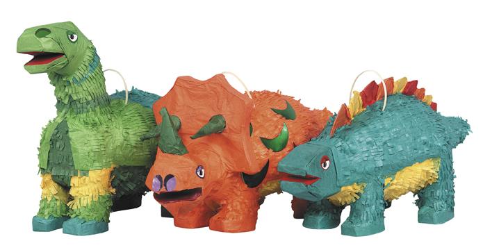 Dinosaurie - Pinata Dinosaurier (Grön Apatosaurus)
