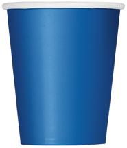 Royalblå Muggar