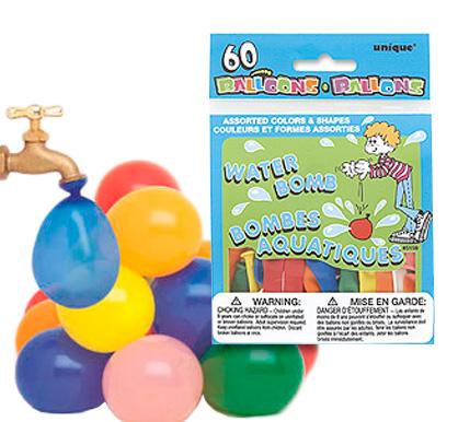 Vattenballonger