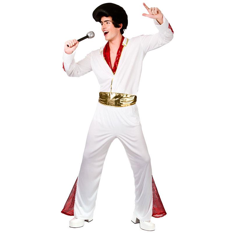 Elvis Presley Maskeraddräkt (Medium)