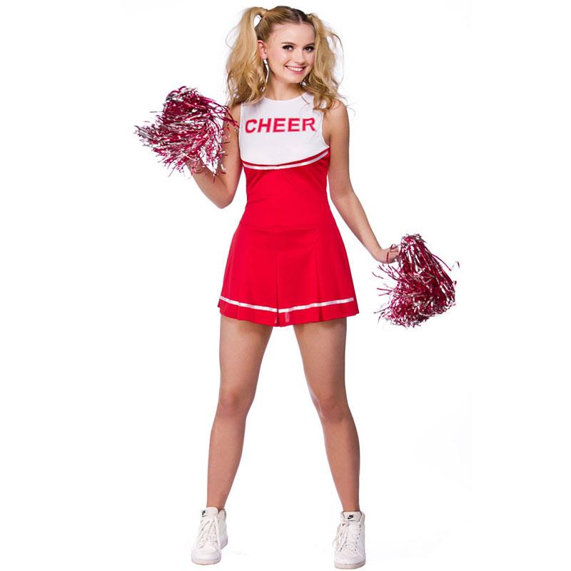 Cheerleader Dräkt (X-Small (str. 34-36))