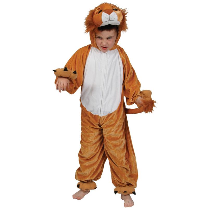 Lejondräkt Barn Deluxe (Small (2-3 år))