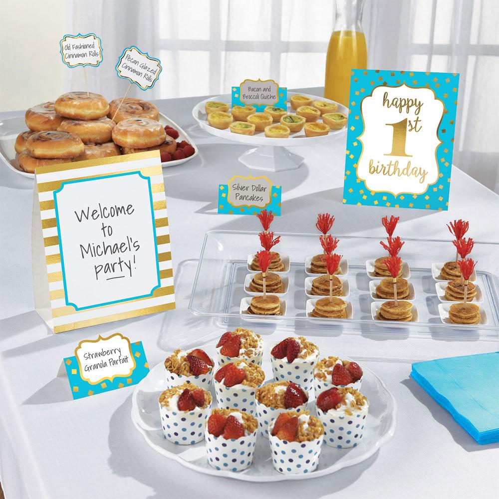 1st Birthday Dekorations Set
