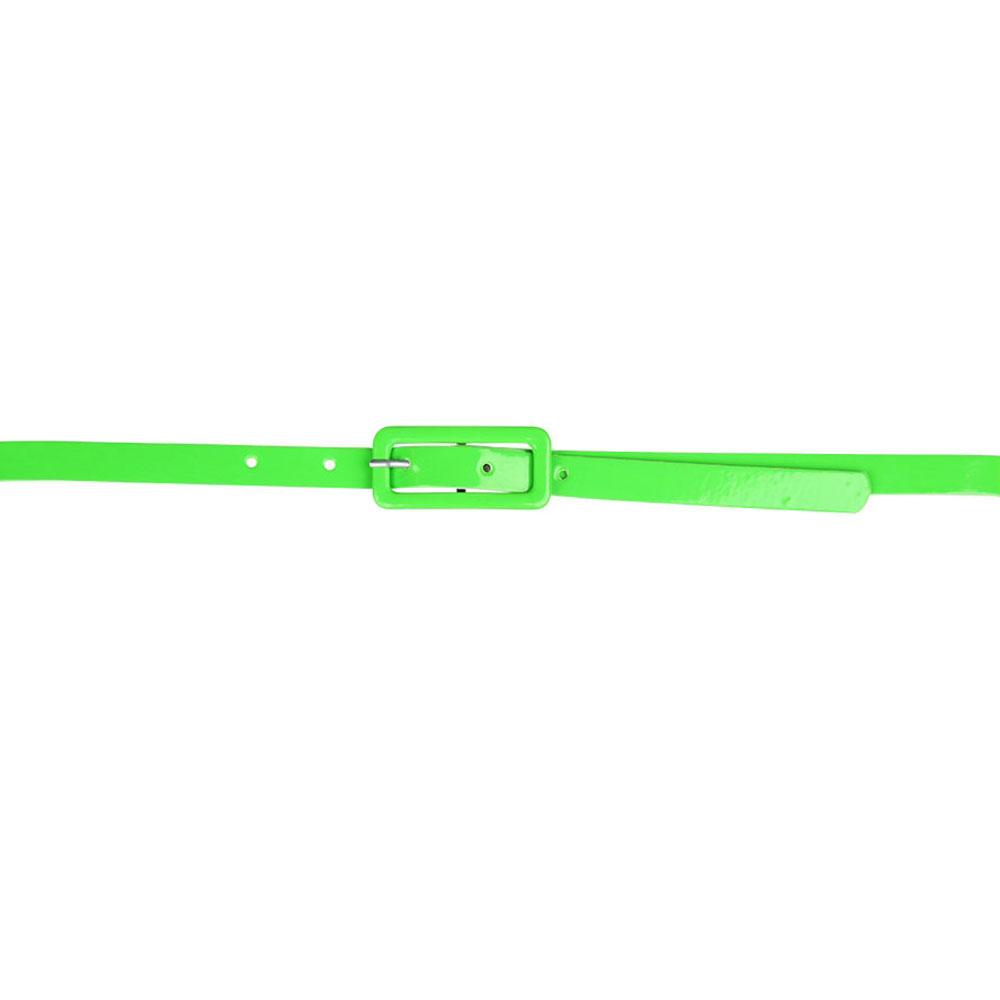 80-tals Skärp Neon Grön