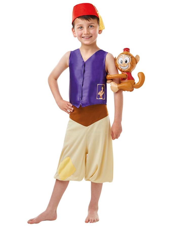 Aladdin Maskeraddräkt Barn (Small (3-4 år))