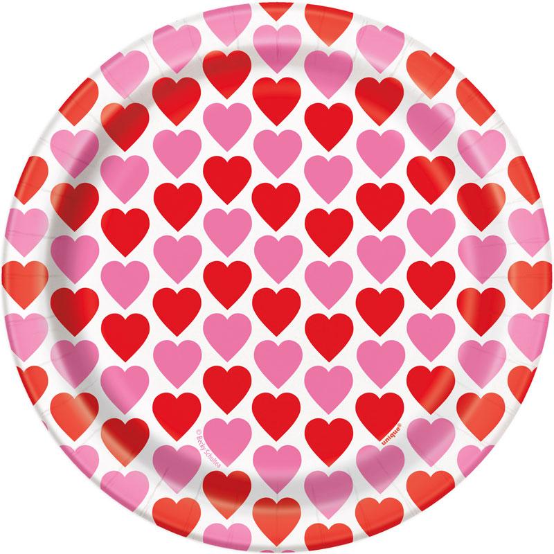 Alla Hjärtans Dag Assietter