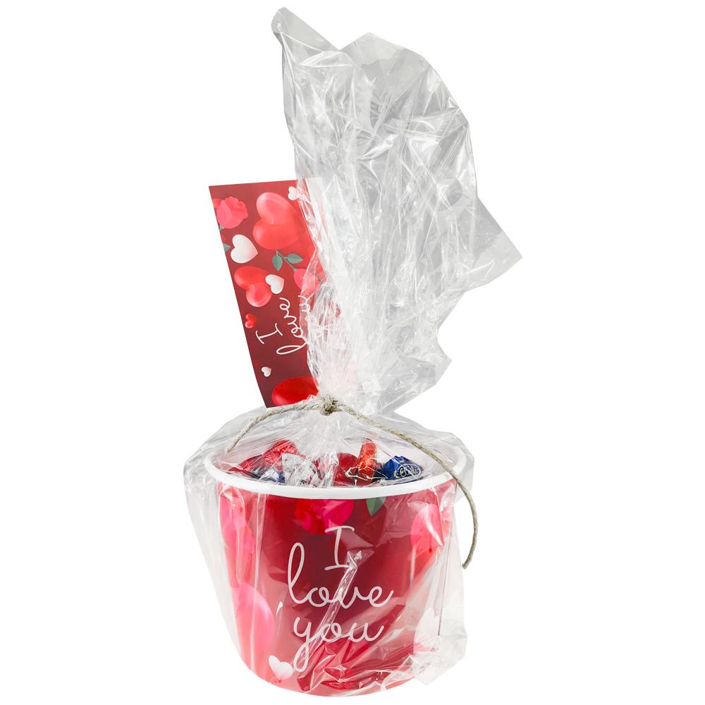 Alla Hjärtans Dag Choklad Hink XL