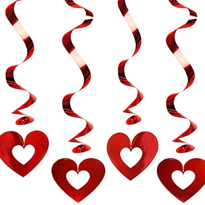 Alla Hjärtans Dag Hängande Dekorationer