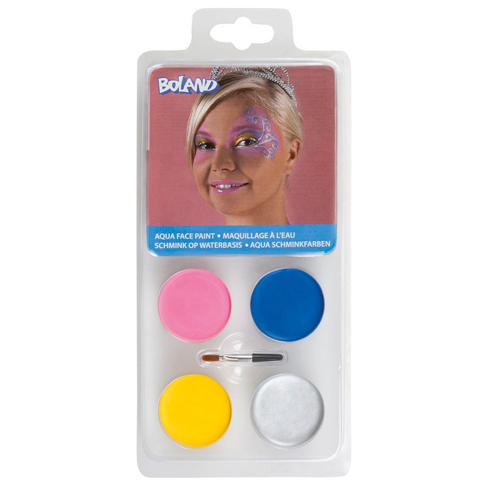 Ansiktsfärg med Palett 4-pack