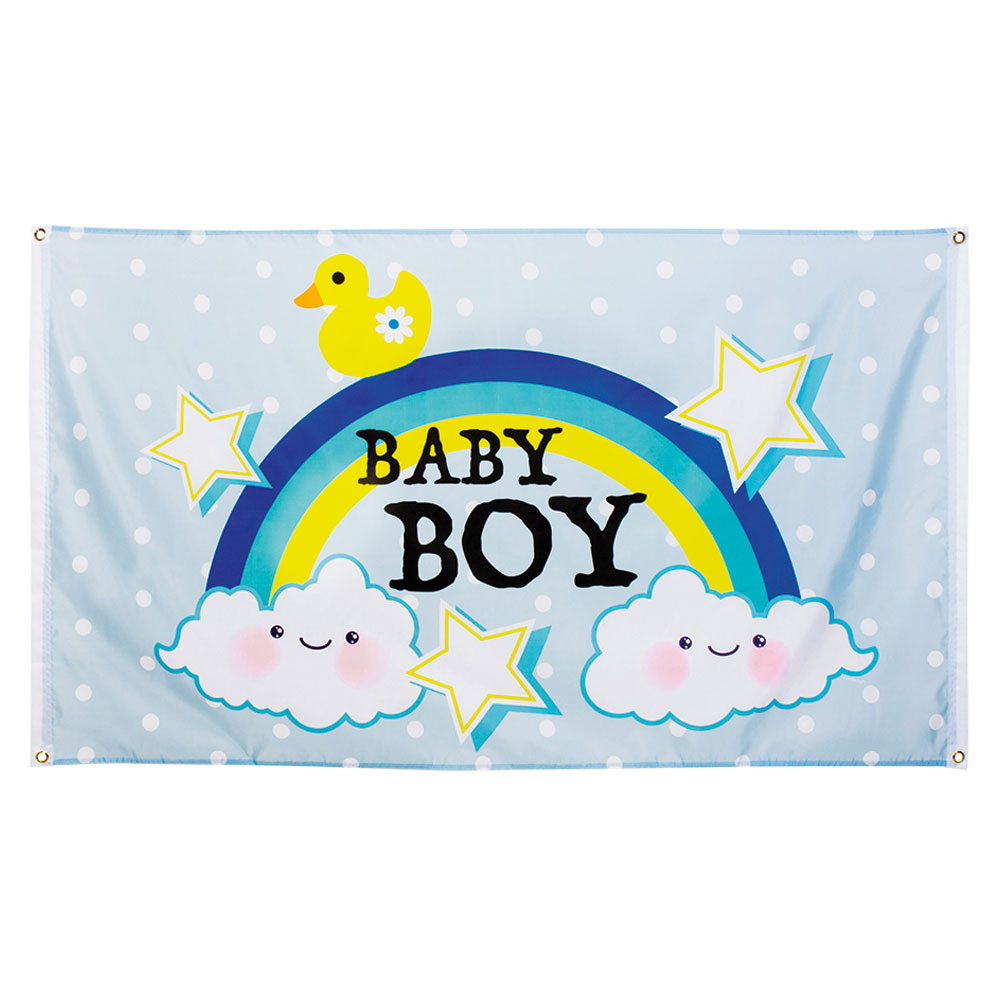Baby Shower Banderoll Baby Boy