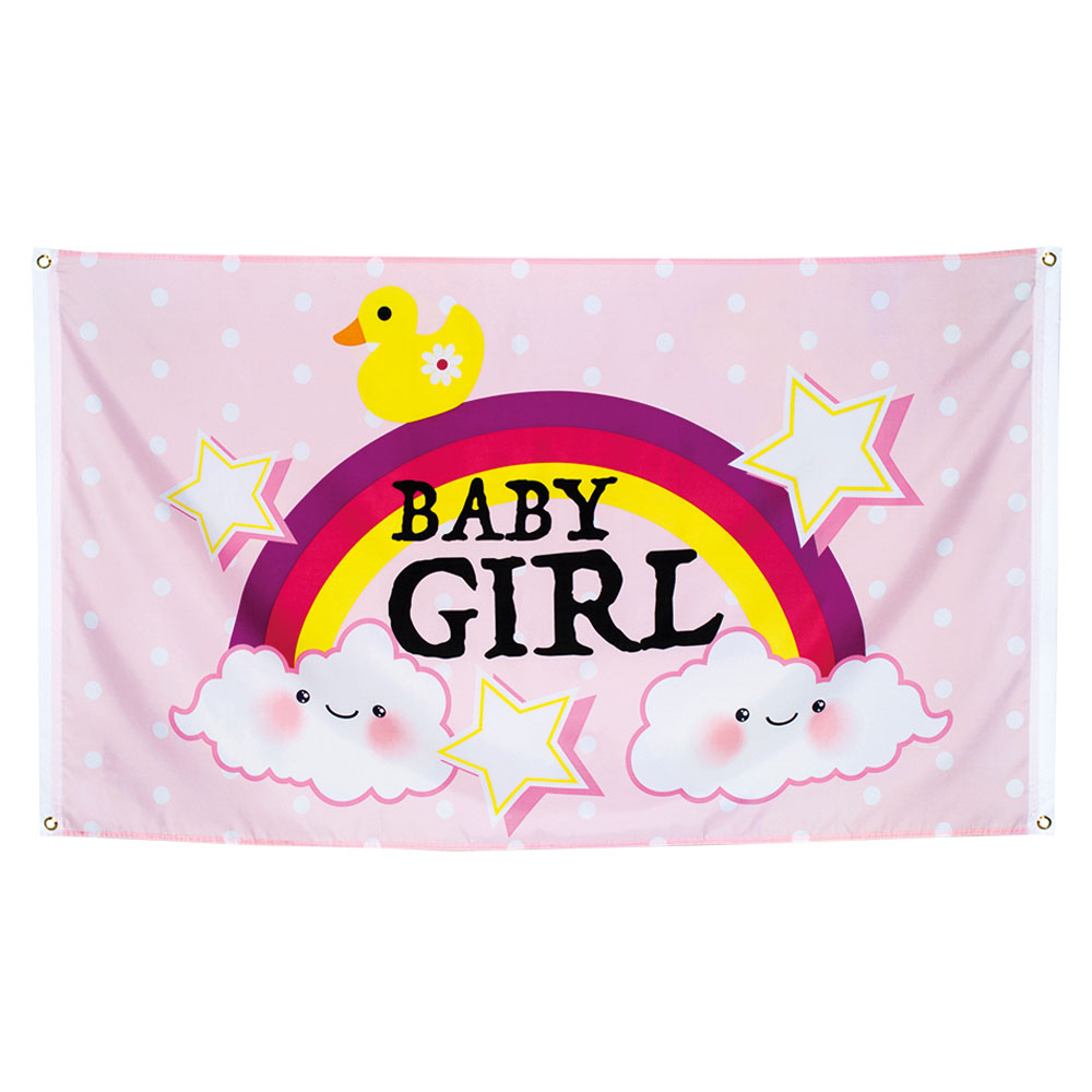 Baby Shower Banderoll Baby Girl