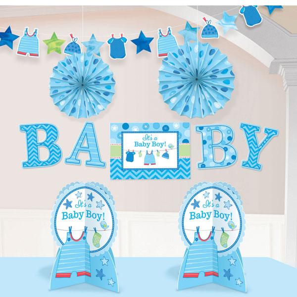 Baby Shower Its a Baby Boy Dekorationer