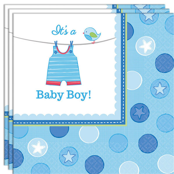 Baby Shower Its a Baby Boy Servetter