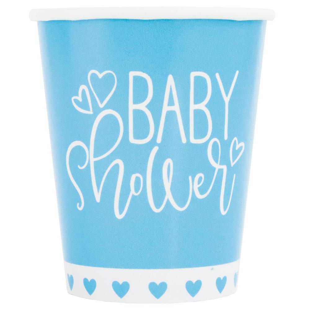Baby Shower Muggar Ljusblå