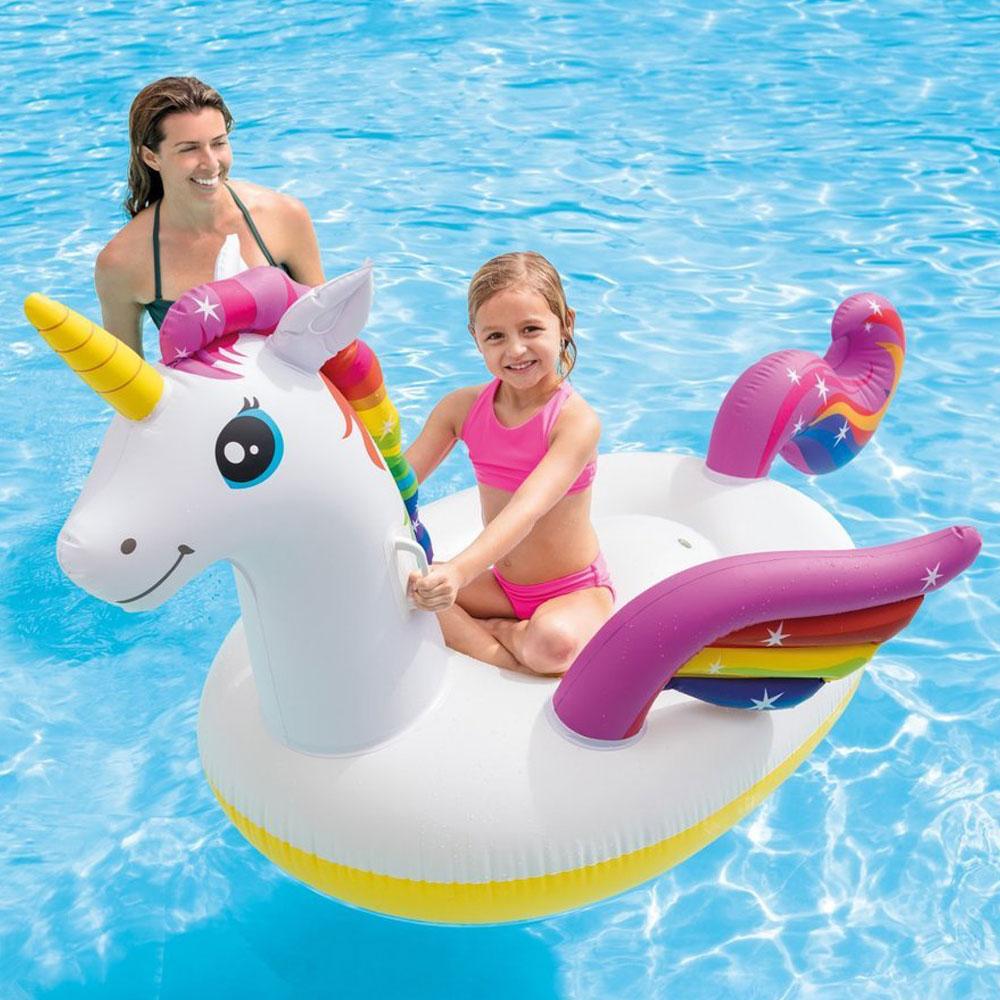 Enhörningsprodukter - Badmadrass Enhörning för Barn