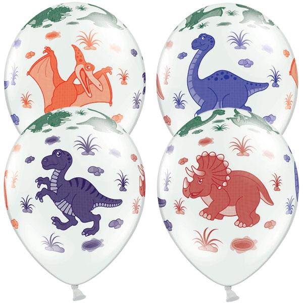 Dinosaurie - Ballonger med Dinosaurier