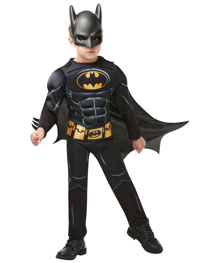 Batman Maskeraddräkt Barn (Small (3-4 år))