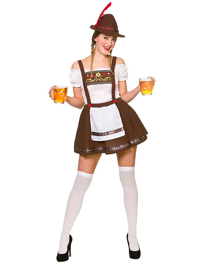 Beer Maid Oktoberfest Dräkt