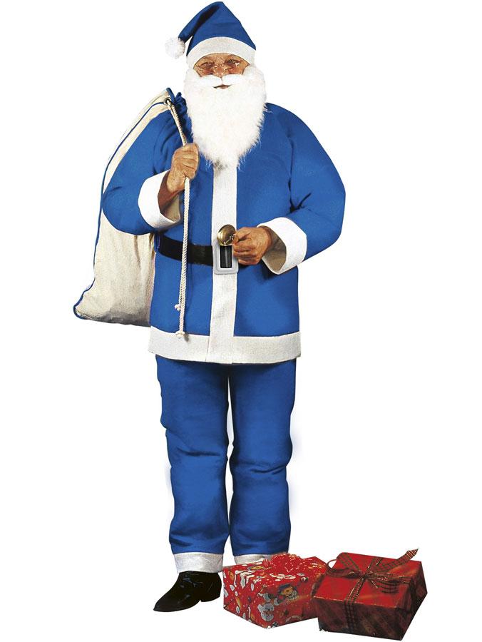 Blå Tomtedräkt