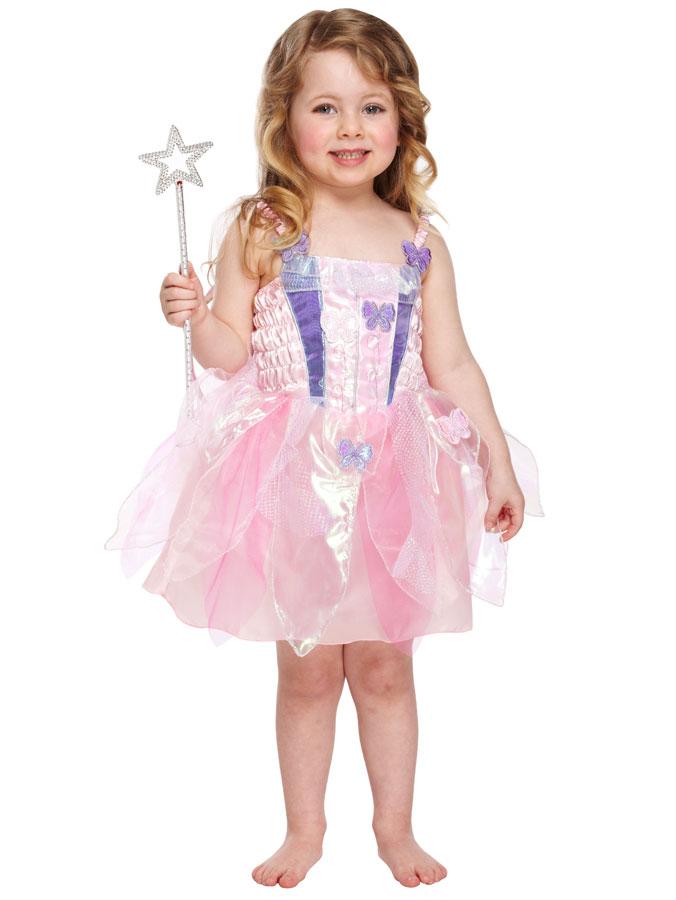 Butterfly Fairy Maskeraddräkt Barn