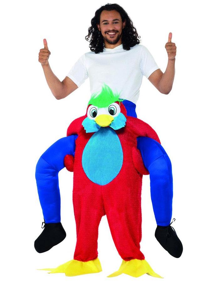 Carry Me Papegoja Dräkt