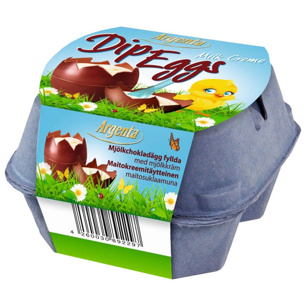 Chokladägg med Mjölkkräm