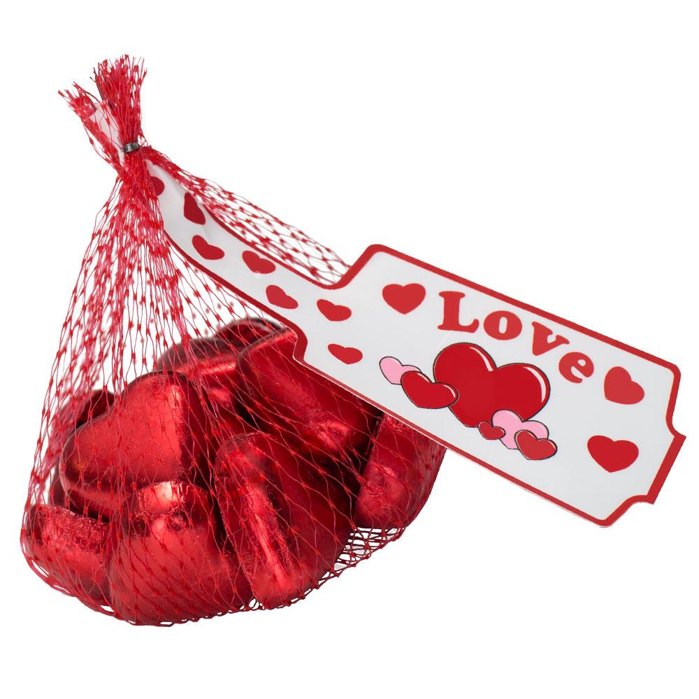 Chokladhjärtan i Nät