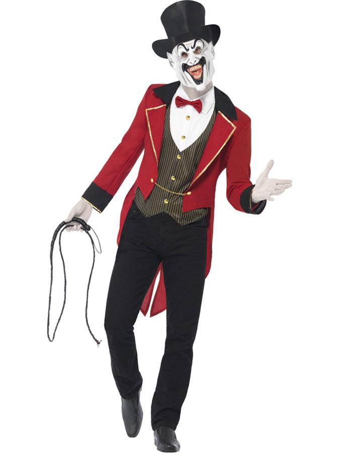 Cirkusdirektör Djävulsk Dräkt (Medium)