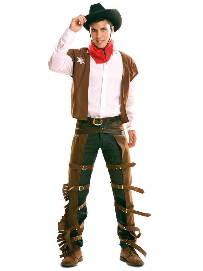 Cowboy Maskeraddräkt (Small)