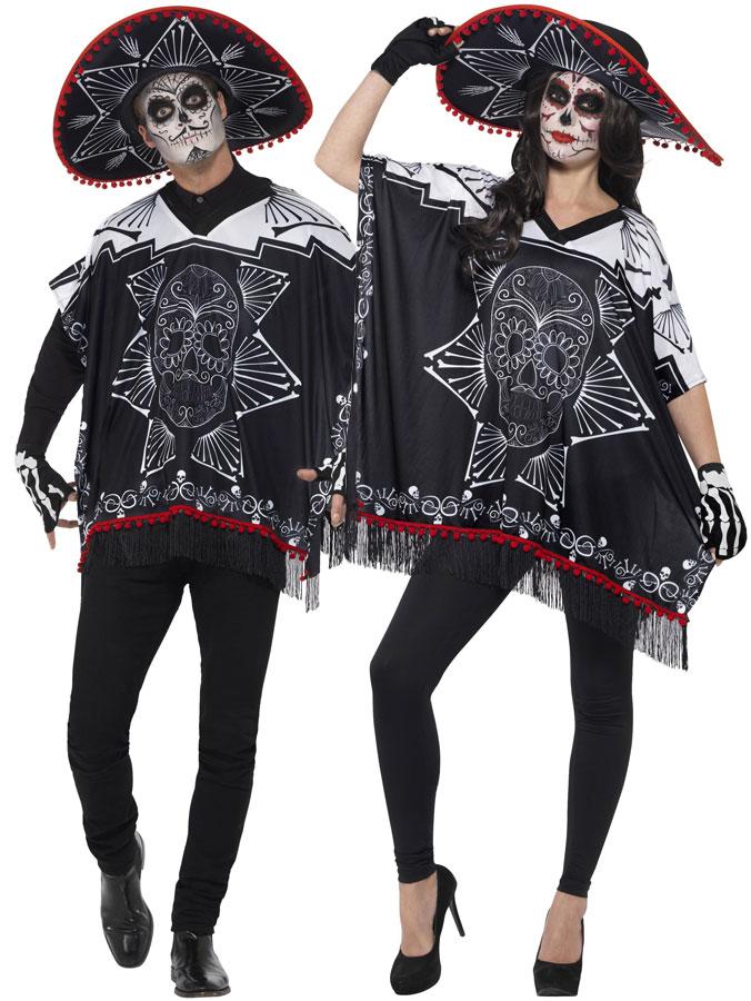 Day Of The Dead Bandit Maskeraddräkt