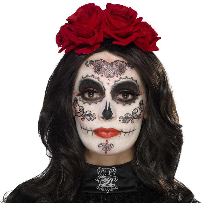 Day of the Dead Sminkset Glamour