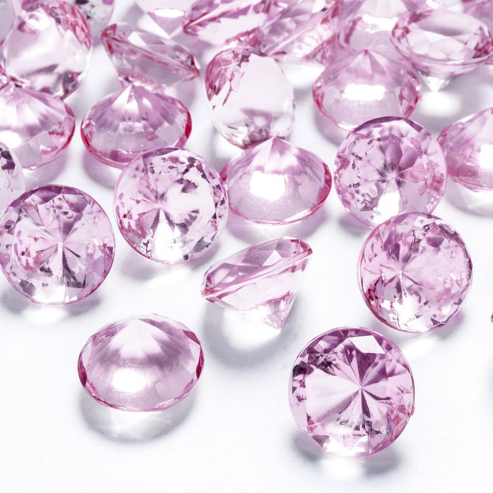 Diamantkonfetti Mellan Ljusrosa