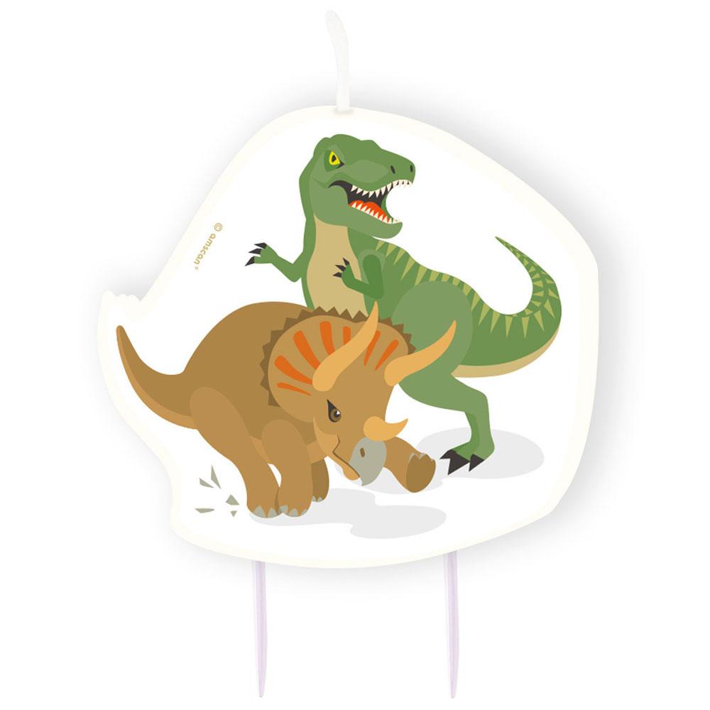 Dinosaurie - Dinosaurier Tårtljus