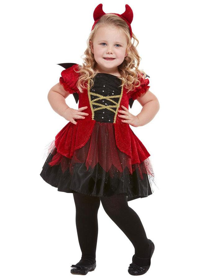 Djävul Maskeraddräkt Barn (T1 (1-2 år))