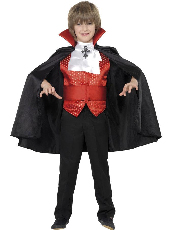 Dracula Dräkt Barn (Medium (7-9 år))