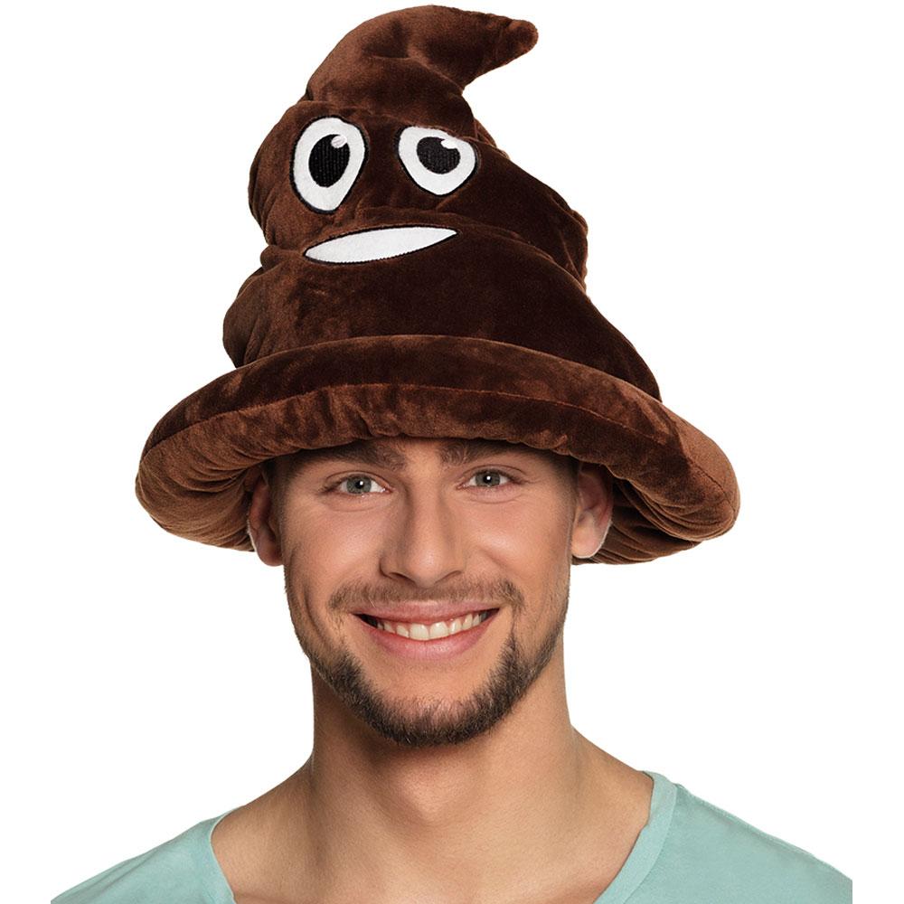 Emoji Poop Hatt
