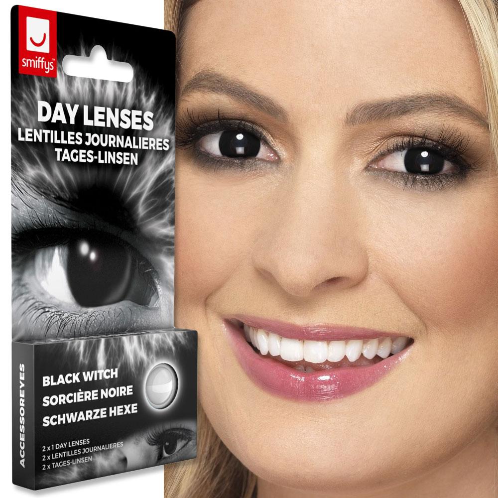 Färgade Linser Black Witch