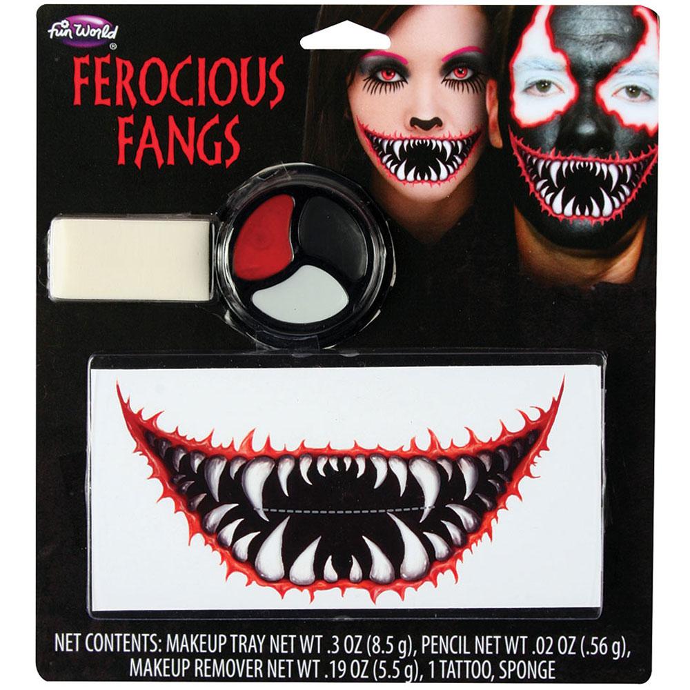 Ferocious Fangs Sminkset