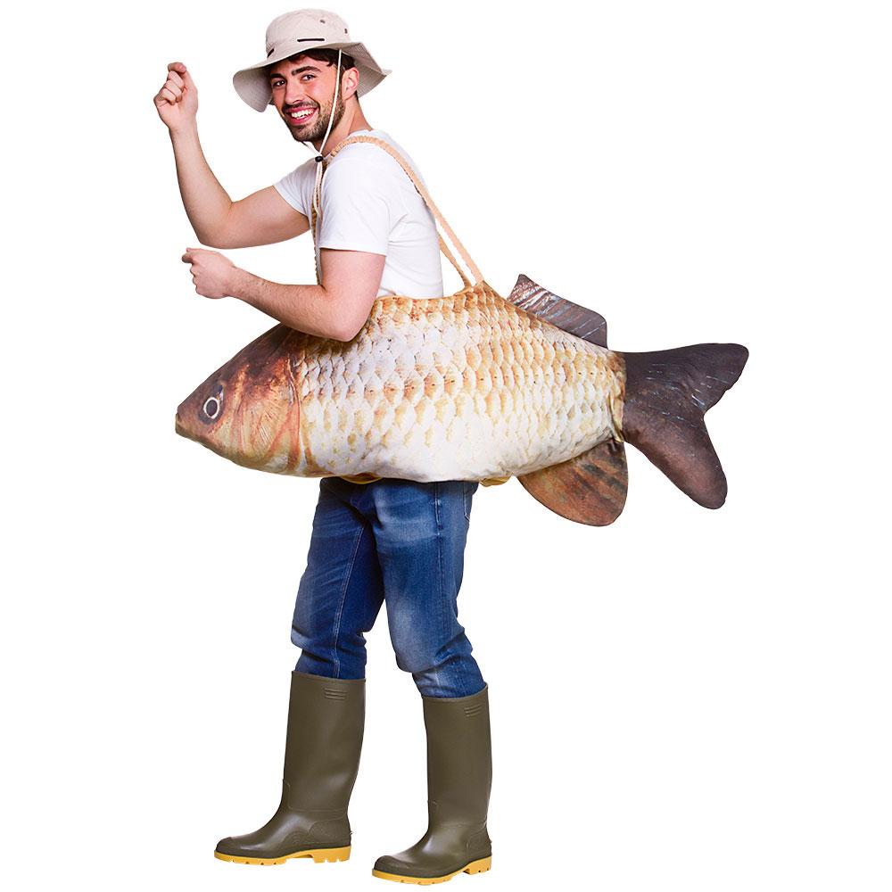 Fiskare Catch Of The Day Maskeraddräkt