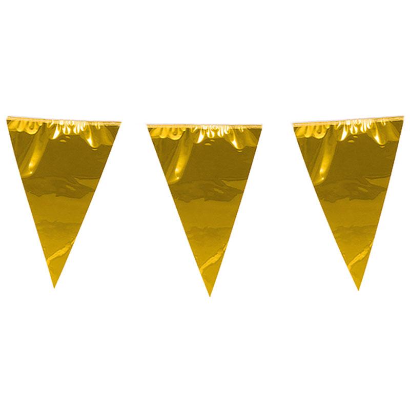 Flaggirlang Guld XL