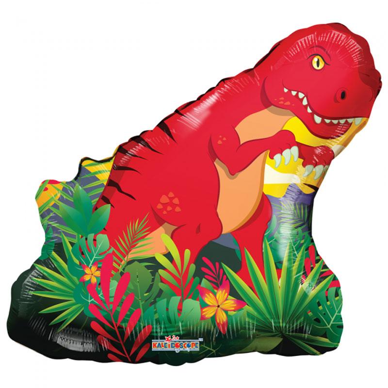 Dinosaurie - Folieballong Dinosaurie T-Rex
