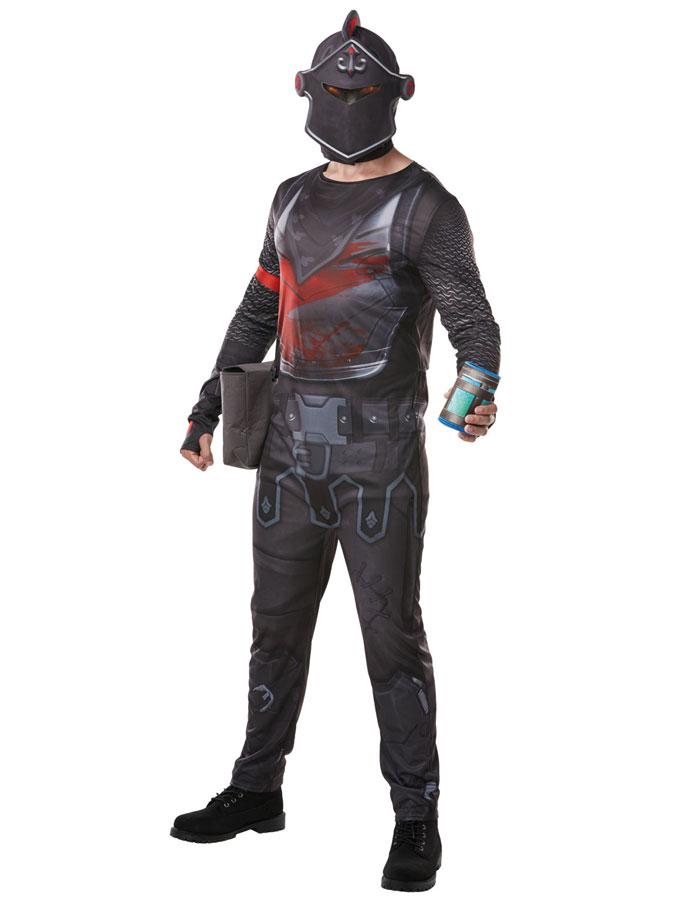 Fortnite Black Knight Maskeraddräkt Deluxe (Small)