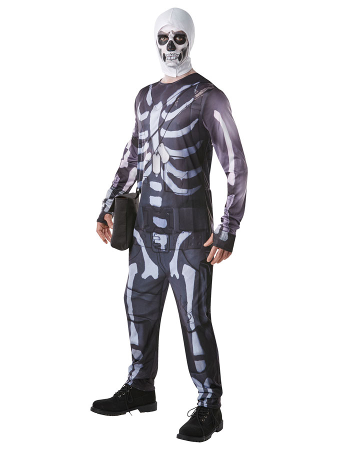 Fortnite Skull Trooper Maskeraddräkt