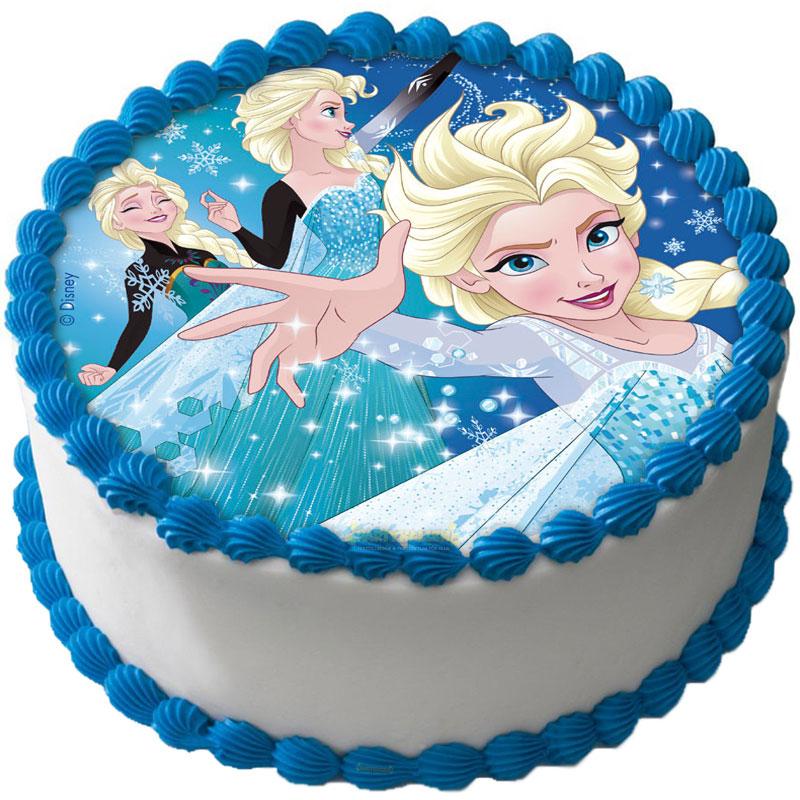 Frost Tårtbild Sockerpasta C