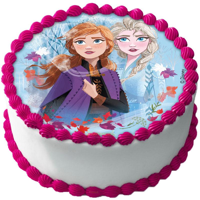 Frozen 2 Tårtbild A