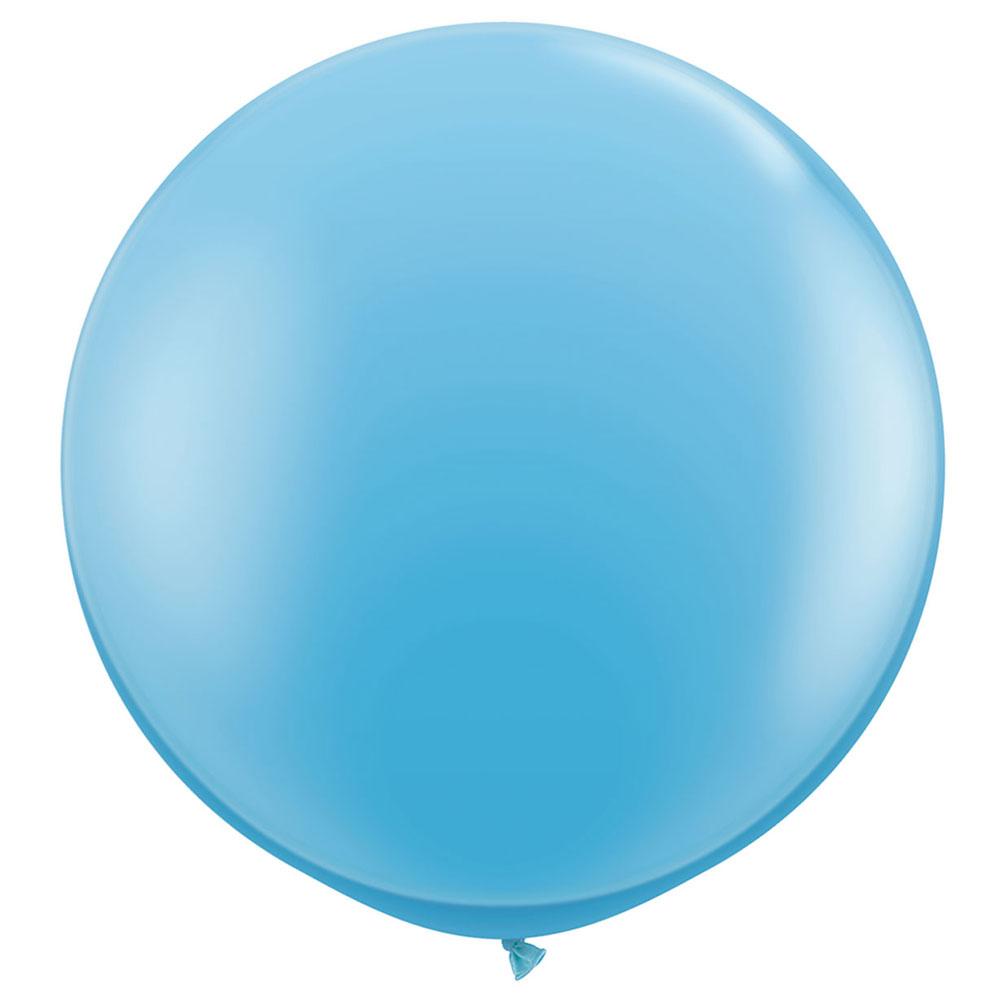 Gigantisk Ballong Ljusblå