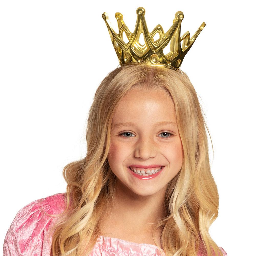 Guldig Prinsesskrona Barn